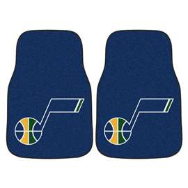 NBA - Utah Jazz 2-pc Carpet Car Mat Set Front Car Mats