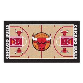 NBA - Chicago Bulls  NBA Court Runner Mat, Carpet, Rug