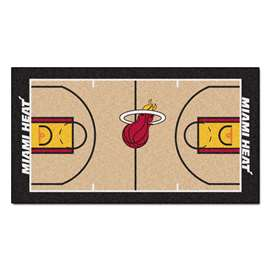 NBA - Miami Heat  NBA Court Runner Mat, Carpet, Rug