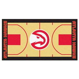 NBA - Atlanta Hawks  NBA Court Runner Mat, Carpet, Rug