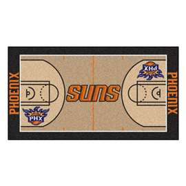 NBA - Phoenix Suns  NBA Court Runner Mat, Carpet, Rug