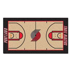 NBA - Portland Trail Blazers  NBA Court Runner Mat, Carpet, Rug