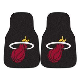 NBA - Miami Heat  2-pc Carpet Car Mat Set