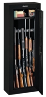 Stack On 8 Gun Security Cabinet - Black