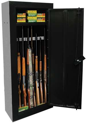 First Watch 8-GUN FIRST WATCH CABINET - BLACK