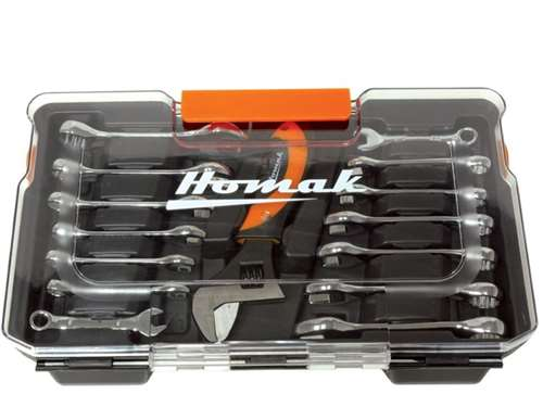 Homak  15 Piece Stubby Wrench Set
