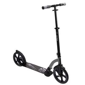 Huffy Remix Kids Folding Inline Scooter, 250mm, Silver