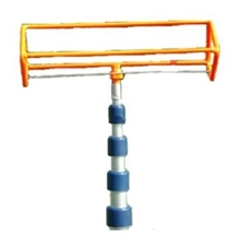 12 Foot  Search And Rescue Orange Four-Ball Retriever
