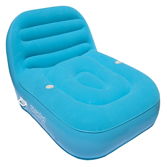 SUN COMFORT COOL SUEDE Double Chaise Lounge, SapphirePOOL, LAKE, RIVER