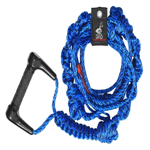 AIRHEAD Wakesurf Rope, 16', 3 Section - Blue ROPES & BUNGEES