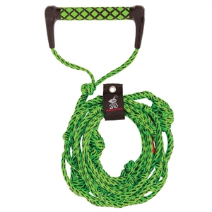 AIRHEAD Wakesurf Rope, 25', 5 Section - Green ROPES & BUNGEES