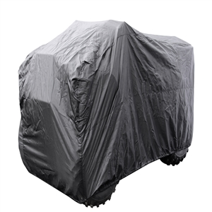 ATV Cover, Black Black Large