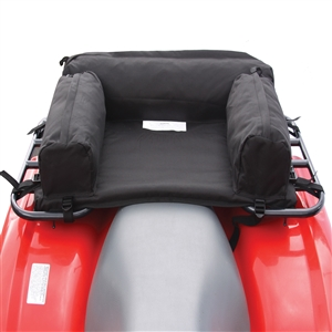 "ATV Padded Rear Pack, Black Black 30"" x 19"" x 6"""
