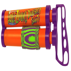 "AQUA ZOOKA DOUBLE SHOT, 18"" Multi-Color 18 inches"