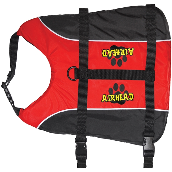 AIRHEAD Pet Vest, L/XL, 50-100 lbs., Red Red L/XL