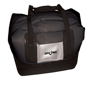DRY PAK Waterproof Duffel, LG, Black Black Large