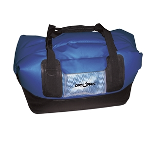 DRY PAK Waterproof Duffel, LG, Blue Blue Large