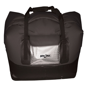 DRY PAK Waterproof Duffel, XL, Black Black X-Large