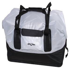 DRY PAK Waterproof Duffel, XL, Clear Clear X-Large