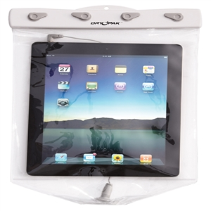 DRY PAK Tablet Case for IPad, 9 x 12 White / Clear 9 x 12 Inches