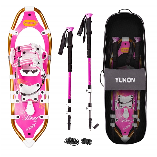 YUKON PRO FLOAT Women's Snowshoe KIT, 821