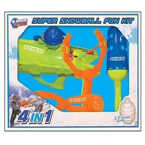 AIRHEAD Snowball Fun Kit (Maker, Launcher, Slingshot, Cannon)