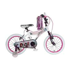 Bratz 16 in White/Purple Bike Bicycle