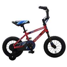 Mantis Growl Red Ready2Roll 12 inch Kids Bicycle, 2 Minute Hassle-Free Assembly
