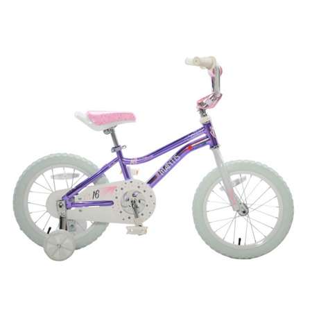 Mantis Spritz Violet Ready2Roll 16 inch Kids Bicycle, 2 Minute Hassle-Free Assembly