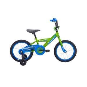 Apollo FlipSide 16 inch Kid's Bicycle, Ages 4 to 7, 36 to 44 inches tall, Green/Blue
