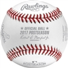 Los Angeles Dodgers 2017 National League Champions Official Rawlings Baseball With Display Cube