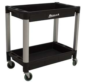 Homak 30 X 16 X 2 inches Shelf Utility Cart