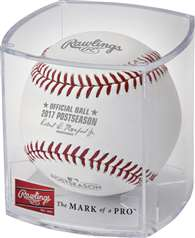 Rawlings 2017 Official MLB Post Season Baseball in Display Cube