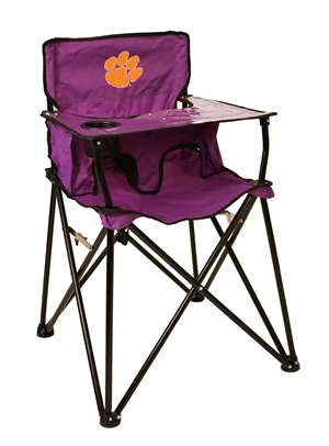 Clemson University Tigers High Chair - Tailgate Camping