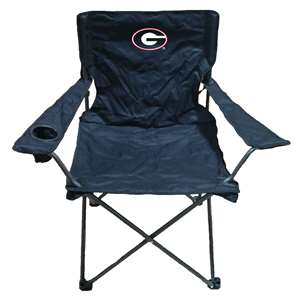 Georgia Adult Chair - Black  Folding Tailgate Camp Chair