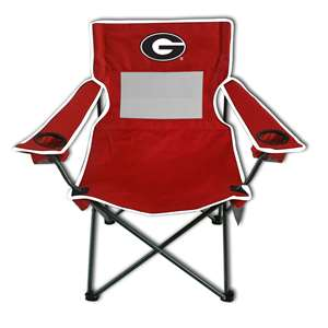 University of Georgia Bulldogs Monster Mesh Chair - Tailgate Camping