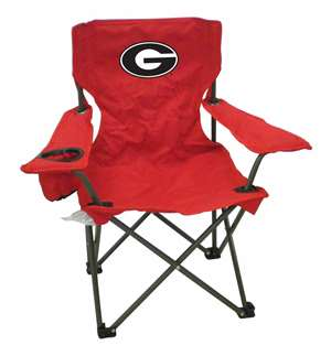 Georgia Junior Chair  Folding Tailgate Camp Chair