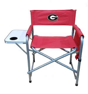 University of Georgia Bulldogs Directors Chair - Tailgate Camping