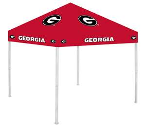 University of Georgia Bulldogs 9X9 Canopy Tent Shelter