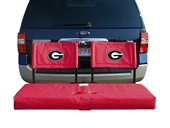 Georgia Tailgate Hitch Seat Cover with Cargo Carrier
