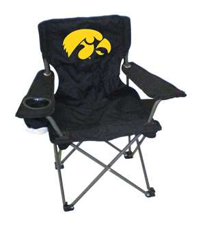 Iowa Junior Chair  Folding Tailgate Camp Chair