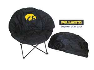 University of Iowa Hawkeyes Round Chair - Tailgate Camping Dorm
