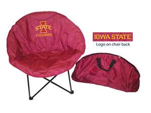 Iowa State University Cyclones Round Chair - Tailgate Camping Dorm