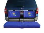 Kansas Tailgate Hitch Seat Cover with Cargo Carrier