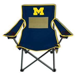 University of Michigan Wolverines Monster Mesh Chair - Tailgate Camping