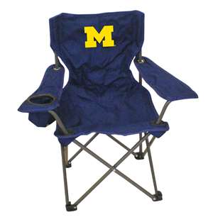 Michigan Junior ChairFolding Tailgate Camp Chair