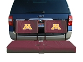 Minnesota Tailgate Hitch Seat Cover with Cargo Carrier