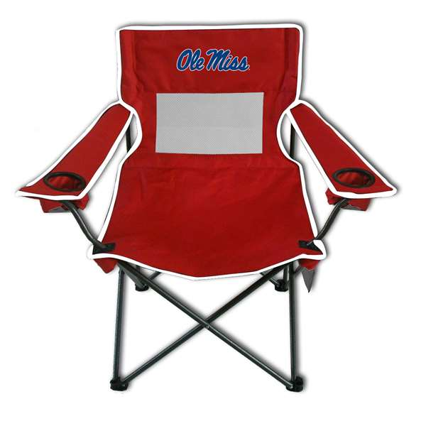 University of Mississippi Ole Miss Rebels Monster Mesh Chair - Tailgate Camping