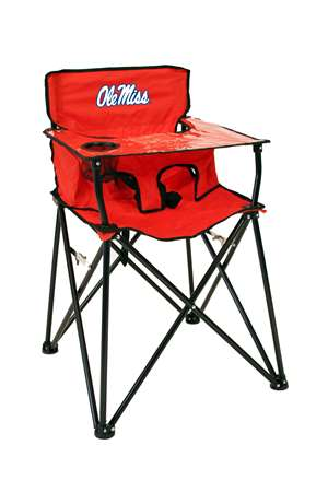 University of Mississippi Ole Miss Rebels High Chair - Tailgate Camping