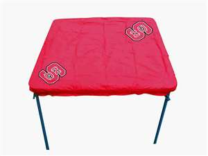 North Carolina State University Wolfpack Card Table Cover